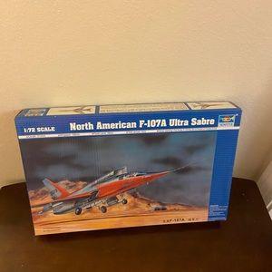 North American F-I07A Ultra Sabre Model